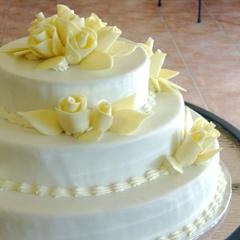 Gateau De Mariage Au Fini Regalisse Chocolaterie La