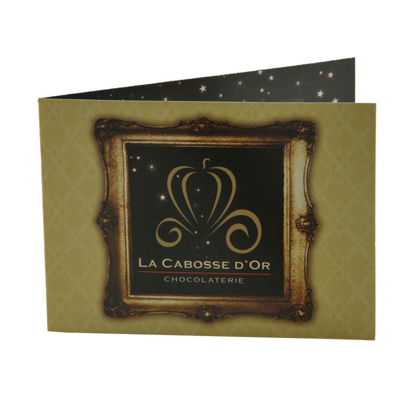 carte cadeau, cabosse d'or