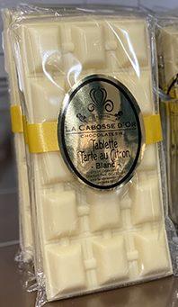 tablette chocolat tarte citron
